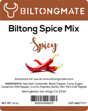 Load image into Gallery viewer, Biltong Spice - Spicy (14oz)