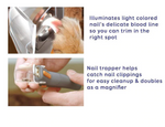 Cat and Dog nail clipper w/LED lighting