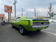 1970年 PLYMOUTH CUDA 440 SIX PACK