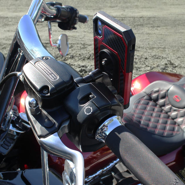 Motorcycle Perch Mount Kit Harley Davidson用