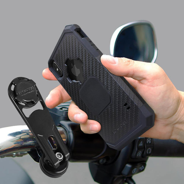 Motorcycle Bar Clamp Mount Kit