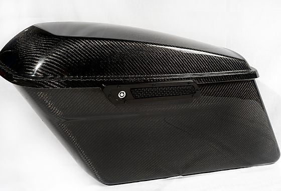 Carbon fiber saddle bag