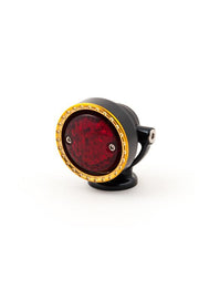 Neo-Fusion Taillght, Black w/Brass Ring