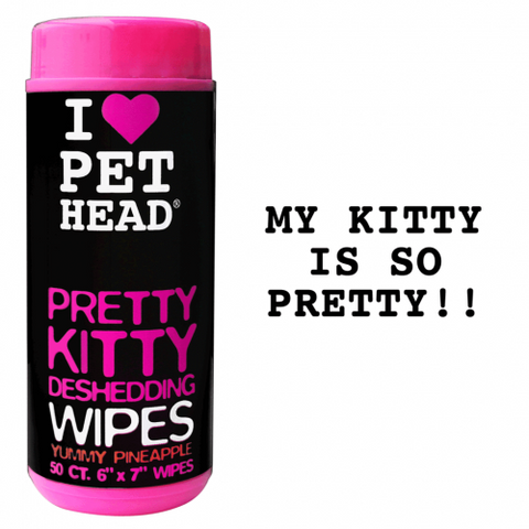 PET HEAD PRETTY KITTY WIPES 50PK