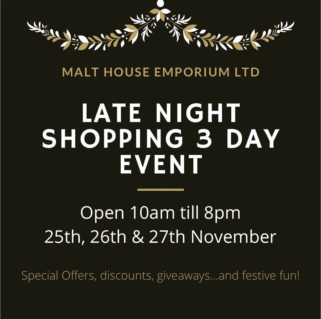 Late Night Shopping Event