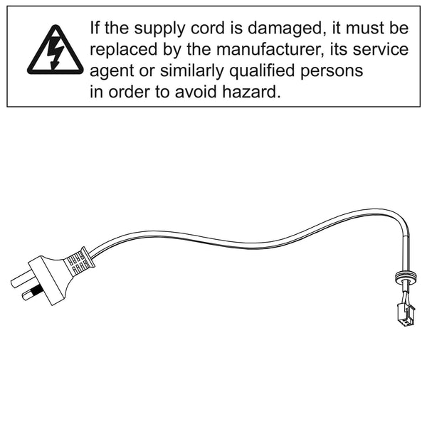 Genuine Merlin Power Cord Commander Essential (MS65MYQ)