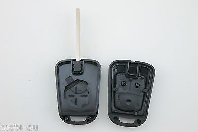 Holden Barina 2 Button Remote Blank Fixed Key Shell Case