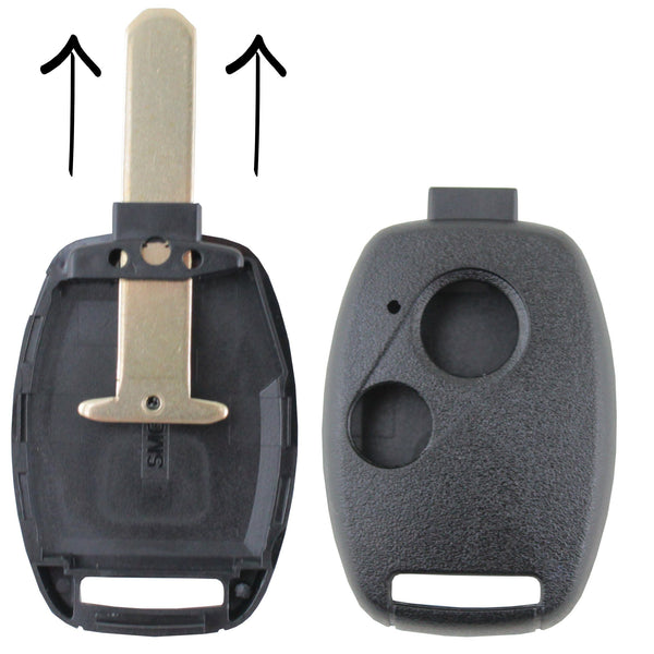 To Suit Honda Blank Key Case/Shell Only