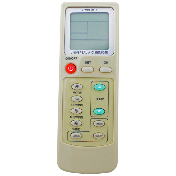 Universal AC Air Conditioning Remote 1000 in 1