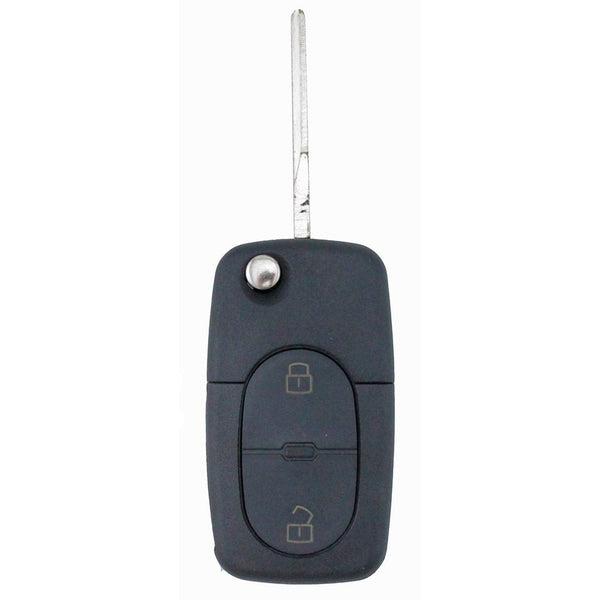 To Suit Audi 2 Button Uncut Key