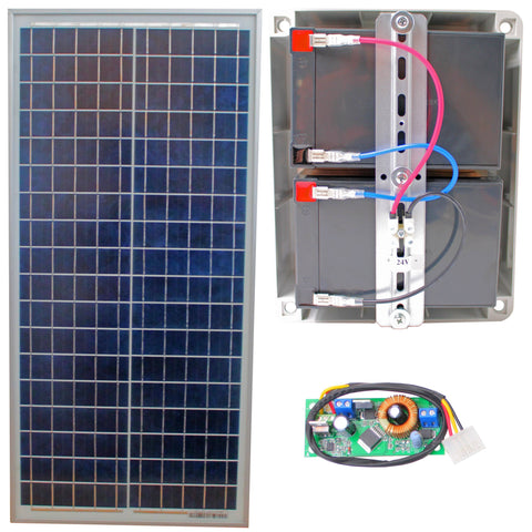 ATA Smart Solar Power Gate/Garage System