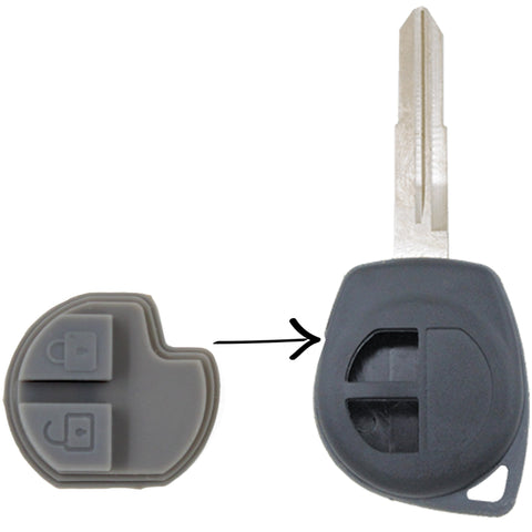 To Suit Suzuki Remote/Key Rubber Buttons