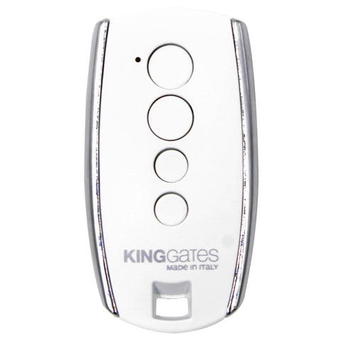King Gates STYLO Genuine White Remote
