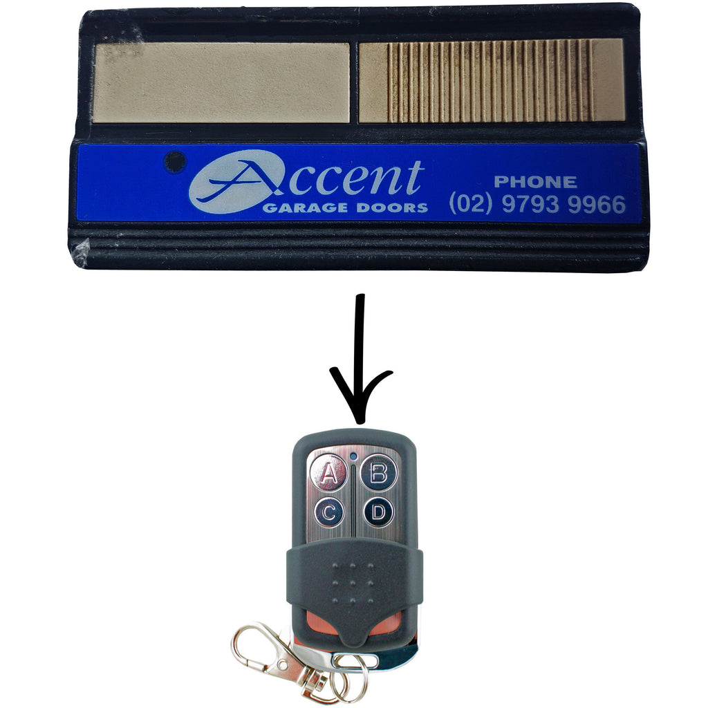 Genuine Accent Forza Silver Garage/Gate Remotes For Sale Australia U2013 Remote  Pro