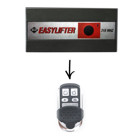 Easylifter 318 Compatible Remote -  - 1