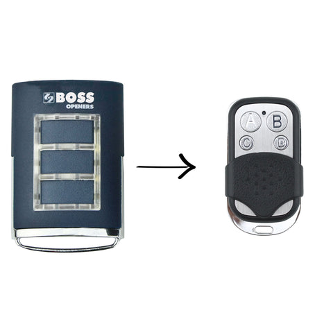 Boss BHT3 Compatible Remote -  - 1