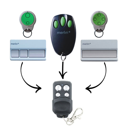 Merlin+ Compatible Remote