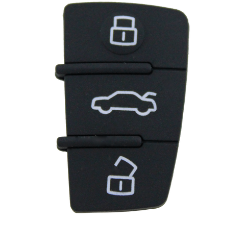 Audi A2 A3 A4 A6 3 Button Replacement Key Remote Shell/Case/Enclosure - Remote Pro - 1