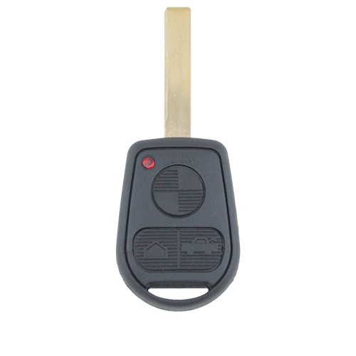 BMW 3 Button Key Remote Case/Shell/Blank 3-5-7 SERIES X3/X5/Z4/E38/E39/E46/M5/M3 - Remote Pro - 1