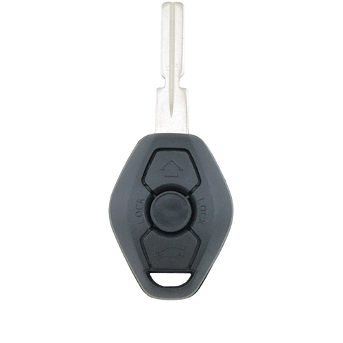 BMW 3 Button Key Remote Case/Shell/Blank 3-5-7 SERIES X3 X5 Z4 E38 E39 E46 M5 M3 - Remote Pro - 1
