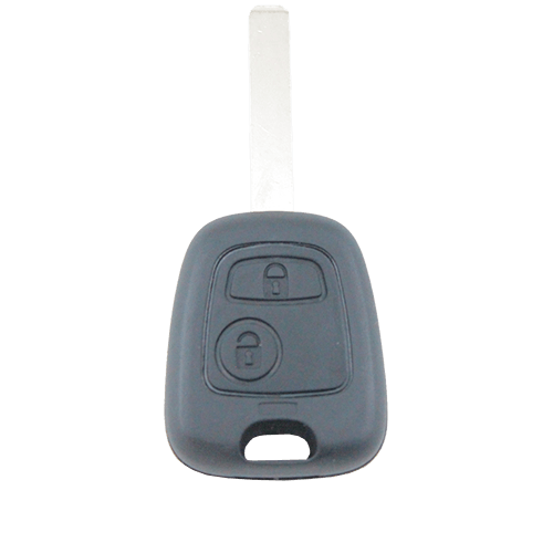 Peugeot 207/307/407 2 Button Key Remote Case/Shell/Blank - Remote Pro - 1