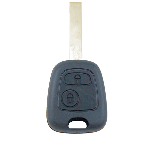 Peugeot 207 307 407 2 Button Key Remote Case/Shell/Blank - Remote Pro - 1