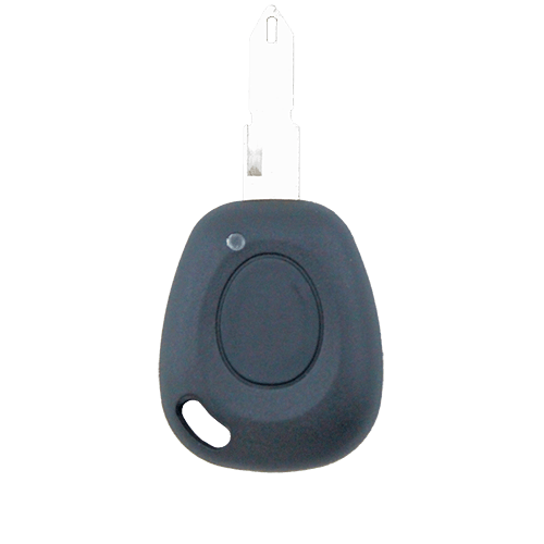 Renault Remote Car Key Uncut Blank 1 Button Replacement Shell/Case/Enclosure - Remote Pro - 1