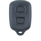 Toyota RAV4/Corolla 1998-1999 2 Button Remote Replacement Shell/Case/Enclosure - Remote Pro - 1