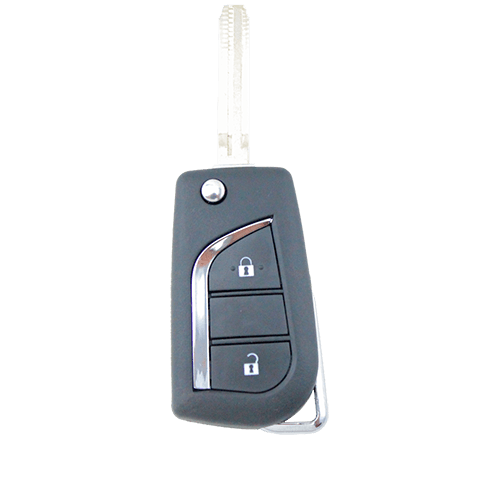 Toyota Corolla Remote Car Flip Key Blank 2 Button Shell/Case/Enclosure - Remote Pro - 1