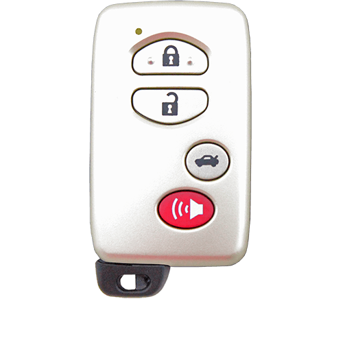 toyota 4 button remote key remote pro. Black Bedroom Furniture Sets. Home Design Ideas