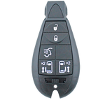Chrysler Voyager 2008 - 2014 5 Button Key Remote Case/Shell/Blank/Enclosure - Remote Pro - 1