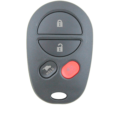 Toyota Kluger Aurion Remote Car Key 4 Button Replacement Shell/Case/Enclosure - Remote Pro - 1