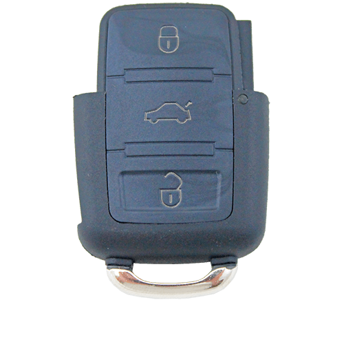 Volkswagen VW Passat Jetta 3 Button Remote Key Bottom Part Shell/Case/Enclosure - Remote Pro - 1