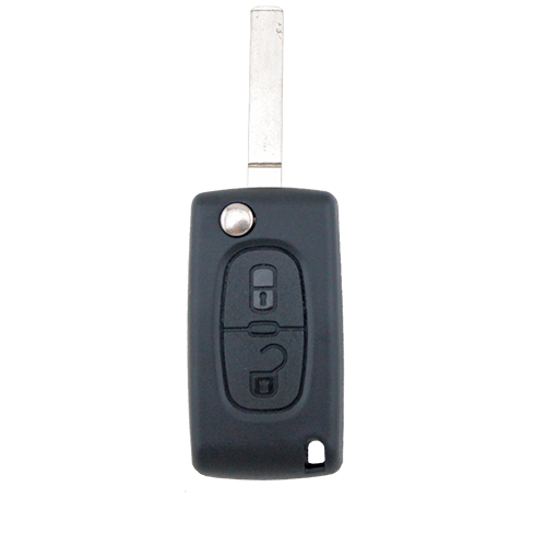 Citroen C2 C3 C4 C5 C6 C8 2 Button Remote Flip Key Blank Shell/Case/Enclosure - Remote Pro - 1