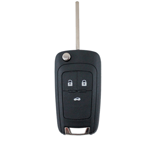 Holden Barina/Cruze/Trax 3 Button Remote Flip Key Blank Shell/Case/Enclosure - Remote Pro - 1