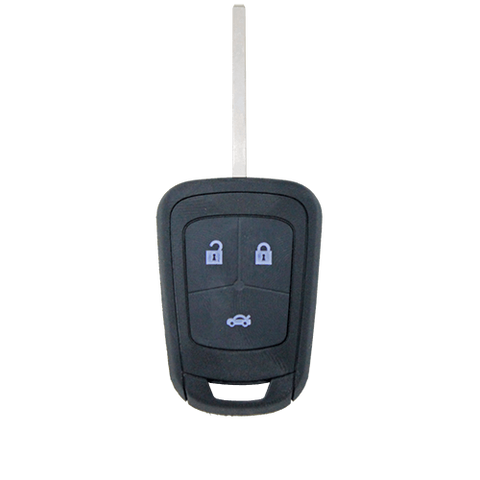 Holden Barina/Cruze/Trax 3 Button Remote Blank Flip Key Shell/Case/Enclosure - Remote Pro - 1