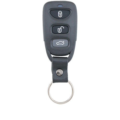 Hyundai Sonata/Elantra 07-10' 3 Button Remote Replacement Shell/Case/Enclosure - Remote Pro - 1