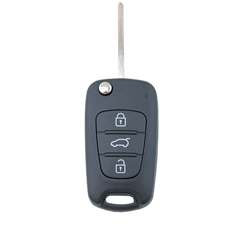 Hyundai i30 i20 Elantra 3 Button Flip Key Replacement Remote Case/Shell/Blank - Remote Pro - 1