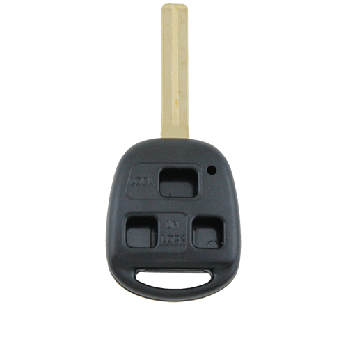Lexus Remote Car 40mm Key 3 Button Shell/Case/Enclosure IS200 GS300 RX300 LS400 - Remote Pro - 1