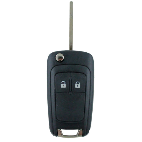 Holden Barina/Cruze/Trax 2 Button Remote Flip Key Blank Shell/Case/Enclosure - Remote Pro - 1