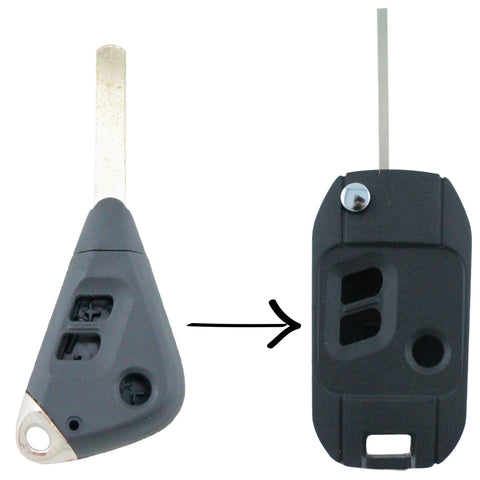 Subaru Liberty Impreza Outback Remote Car Flip Key Blank Shell - Remote Pro - 1