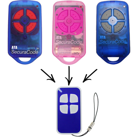 ATA PTX4 Securacode Compatible Remote