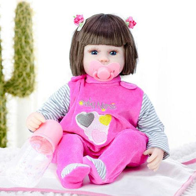 "16"" Little Morgan Reborn Baby Doll Girl (Cloth Body) - Reborn Shoppe"