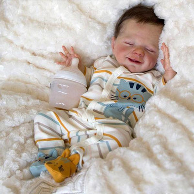"17"" David Reborn Baby Doll Boy - Reborn Shoppe"
