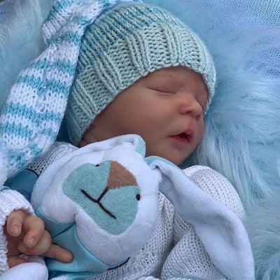 17.5'' Little Colton Reborn Baby Boy Doll - Reborn Shoppe