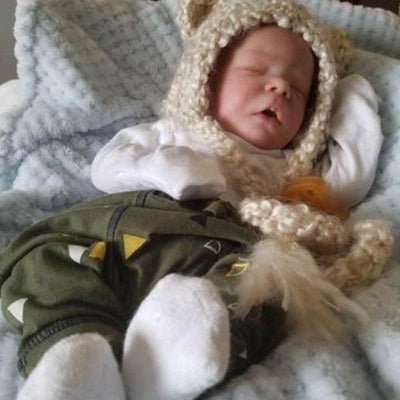 17.5'' Little Cute Sim Truly Reborn Baby Doll - Reborn Shoppe
