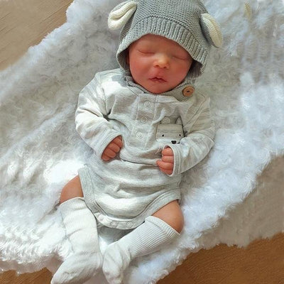17.5'' Little Joshua Reborn Baby Boy Doll - Reborn Shoppe
