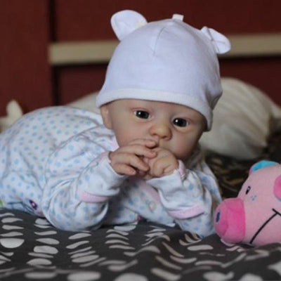 18'' Lovely Luke Reborn Baby Doll Girl - Reborn Shoppe