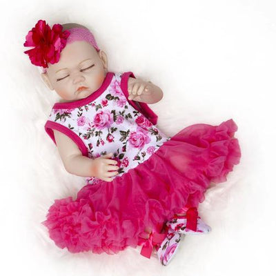 "20"" Laila Full Silicone Reborn Baby Doll Girl - Reborn Shoppe"