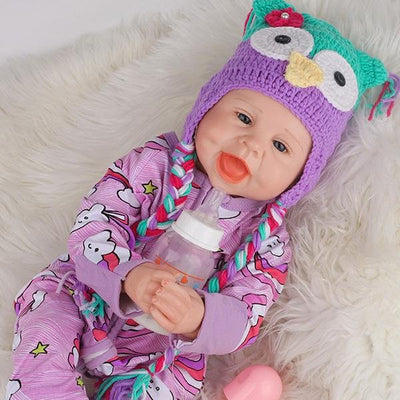 22'' Clever Amy Reborn Dolls Girl - Reborn Shoppe